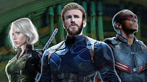 Image result for captain america falcon and black widow